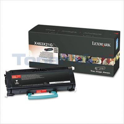 LEXMARK X463DE TONER CARTRIDGE BLACK 15K